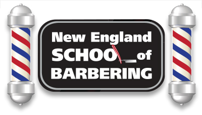 New England School of Barbering Logo